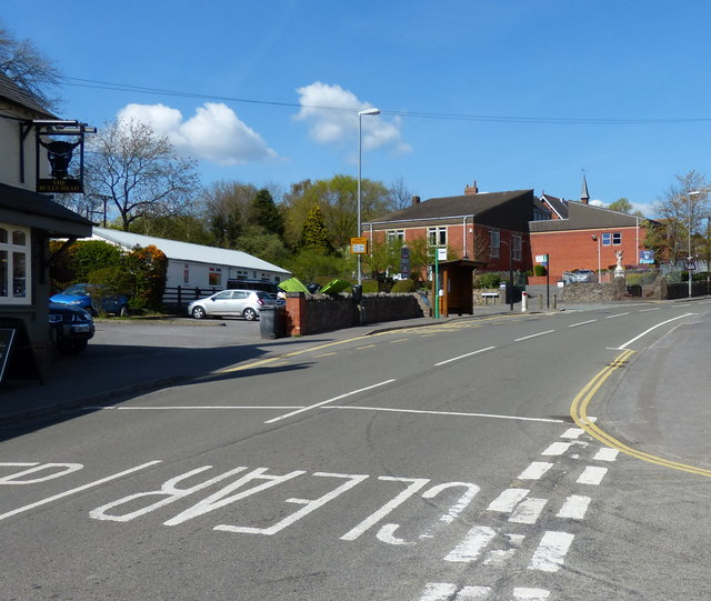 The Main Street in Ratby