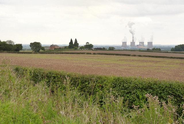 View across Grove Moor