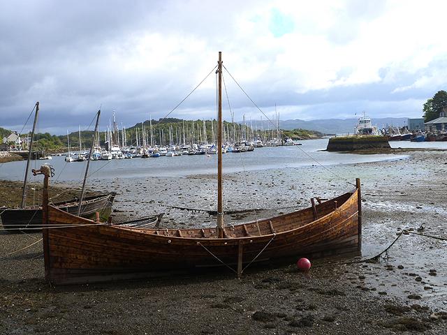 Replica Viking longship, Tarbert