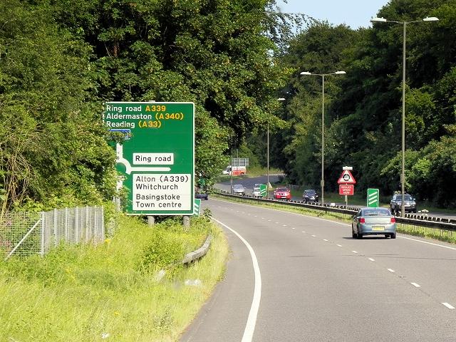 Basingstoke Northern Ring Road (A339)