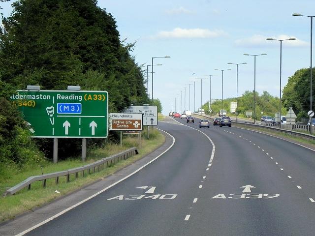 A339, Ringway North, Basingstoke