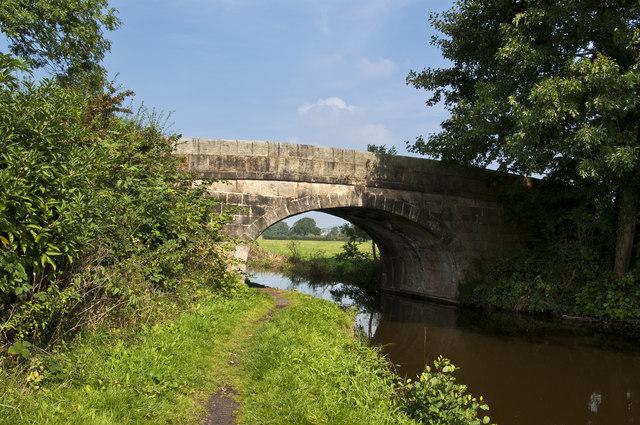 Stubbins Lane bridge over the Lancaster Canal