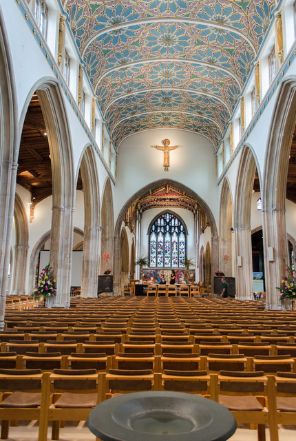 Interior, Chelmsford Cathedral