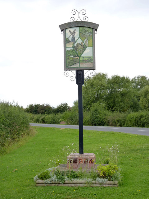 North Leverton with Habblesthorpe village sign