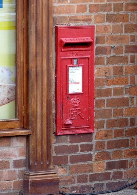 North Leverton Main Street postbox ref  DN22 55