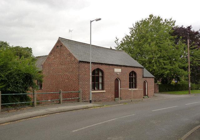 Wesleyan Sunday School, Sturton Road