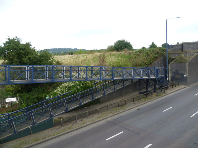 Looking across the A40 (Western Avenue)