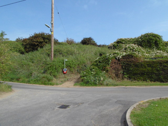 Path off Sea Bank Road, Chapel St Leonards