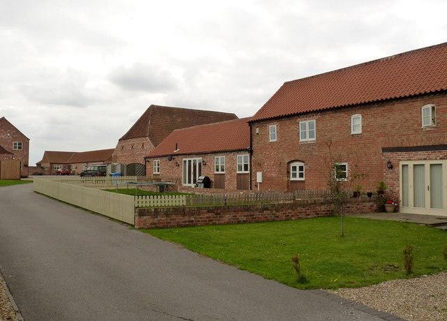 Farm buildings at Yew Tree Farm