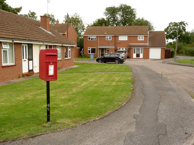 Habblesthorpe Road postbox ref DN22 49