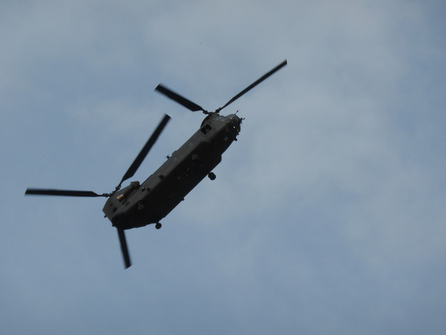 Chinook Helicopter Display