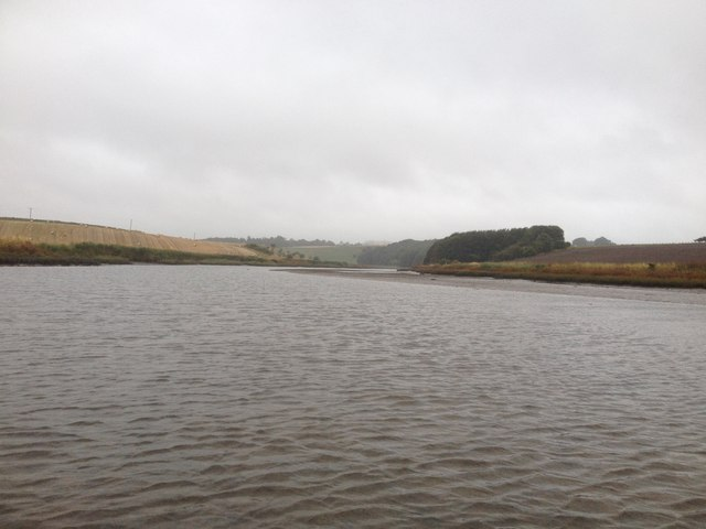 Upstream on the river Eden