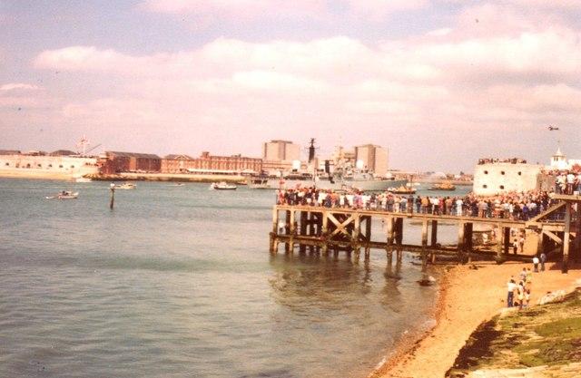 Victoria Pier in Portsmouth
