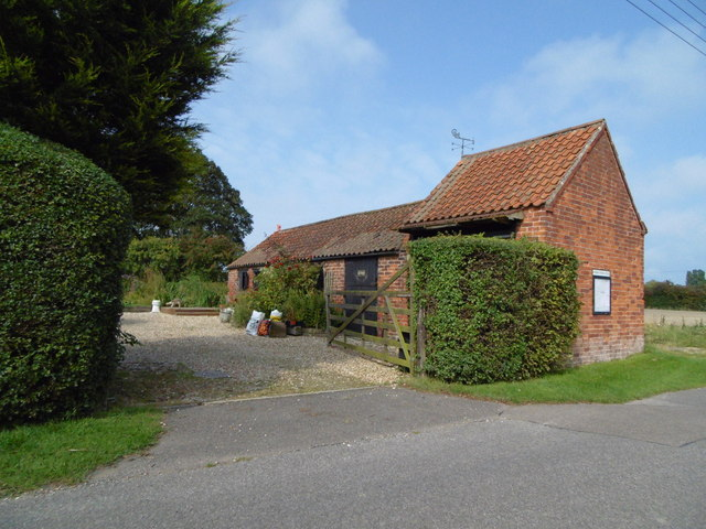 Former farm buildings at Anderby