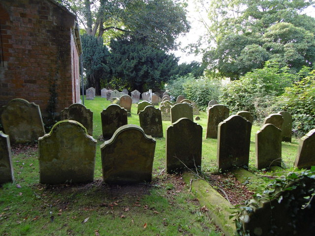 The Graveyard at St Andrews Church, Anderby