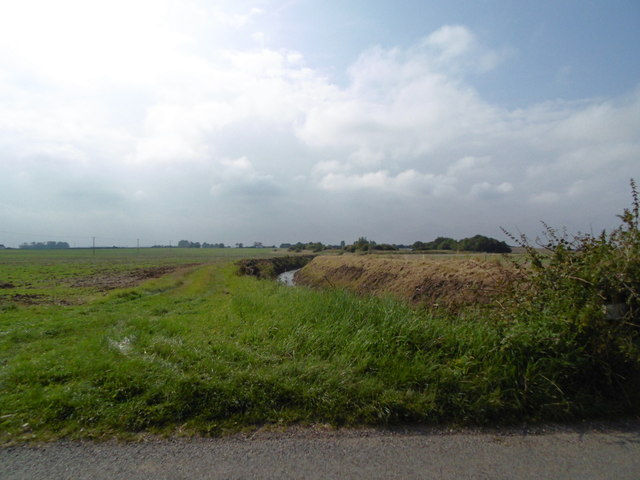 South Fen Drain from Huttoft Road