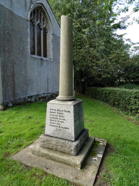 The Broken Cross War Memorial