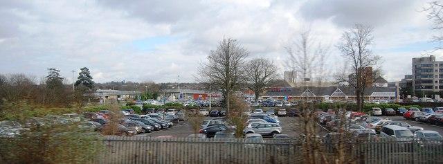Car park in Stevenage
