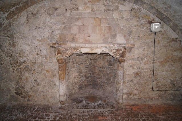 A medieval cellar