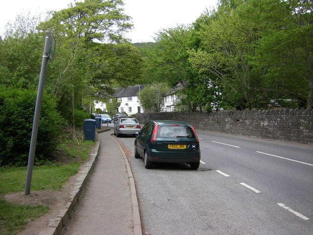 Lay-by on the A827, Kenmore
