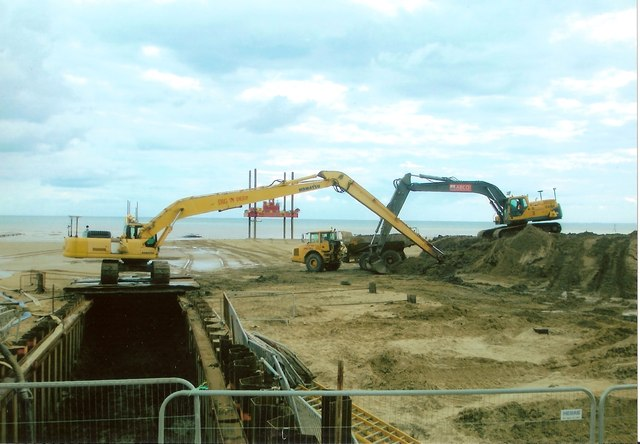 Bridlington's new storm water scheme
