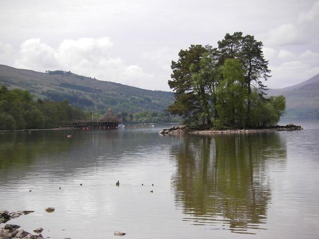 Isle of Spar, Loch Tay