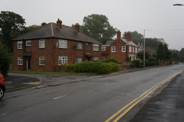 Houses on Grimsby Road, Laceby