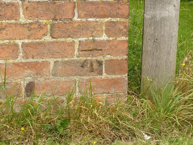 Bench mark, Coates Farm
