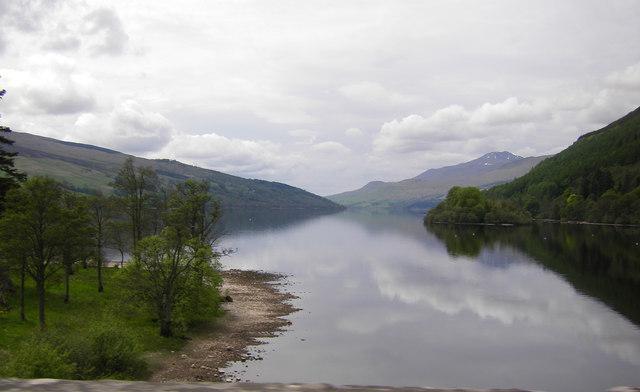 Loch Tay from Kenmore Bridge