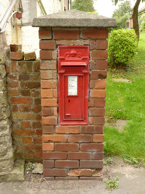 Cottam postbox ref DN22 40