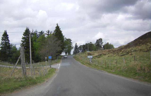 B846 by the Schiehallion turning