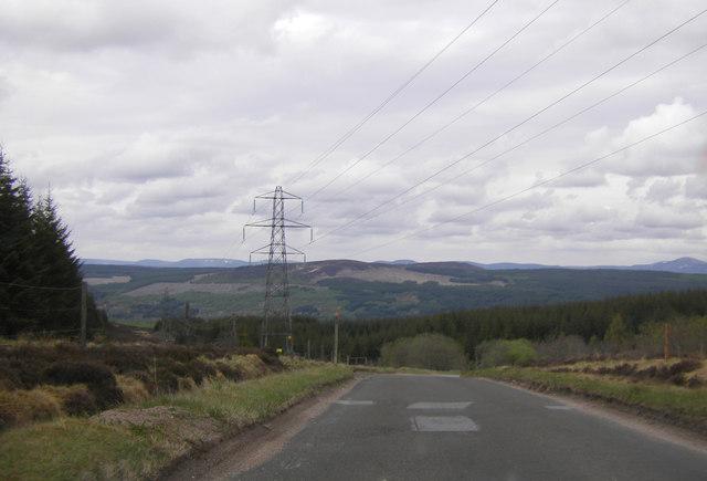 B846 near Loch Kinardochy