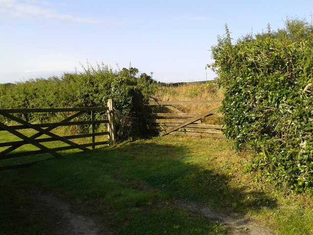 Gate entrances at Woodside Farm