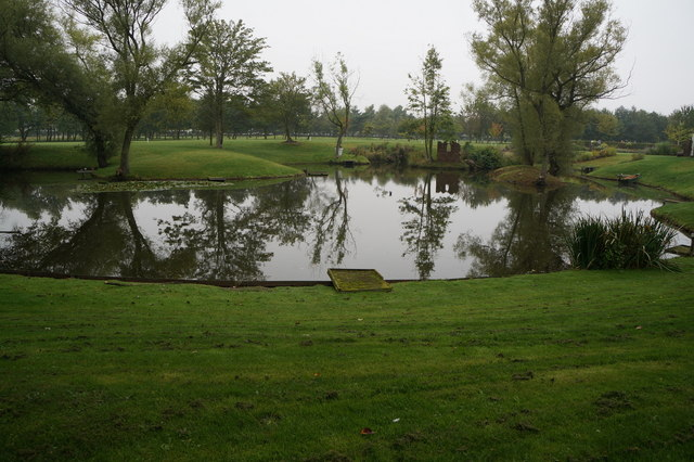 Lake at Laceby Manor Golf Course