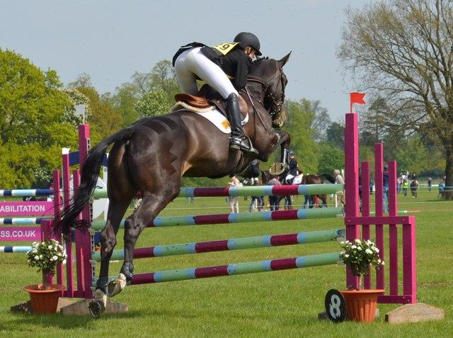 Rockingham Castle Horse Trials: showjumping