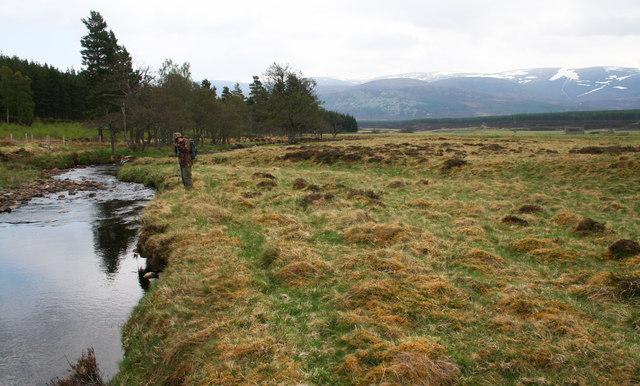Allt Chomhraig near Baileguish