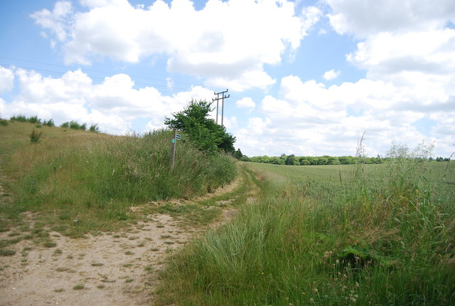 Bridleway off coxhall Rd