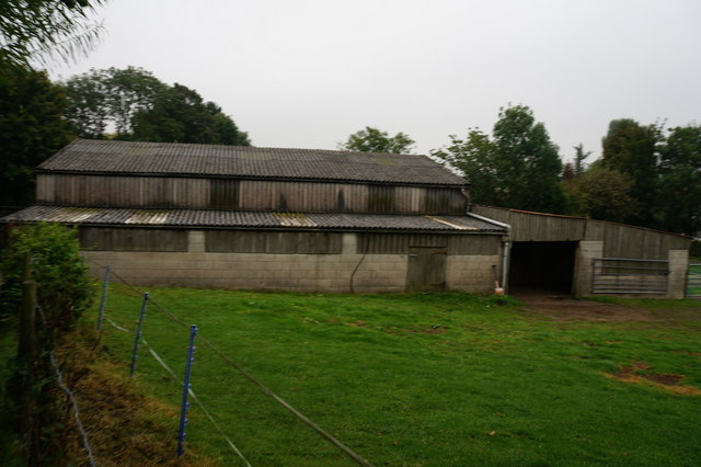 Farm buildings at Melbourne  House Farm