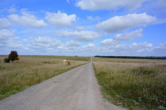 Heytesbury to Imber road