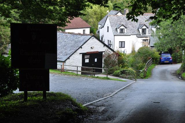 Chambercombe : Chambercombe Lane