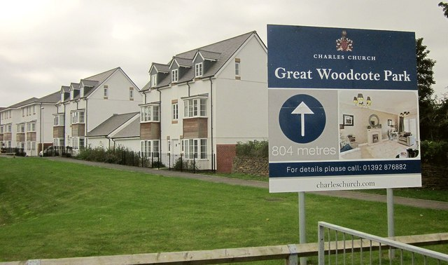 New housing at Newcourt, Exeter