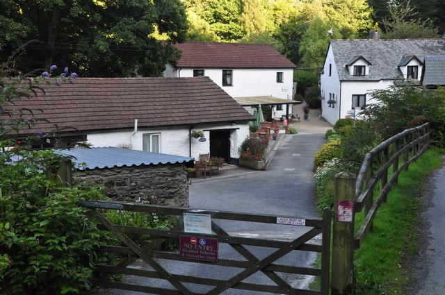 Chambercombe : Chambercombe Manor