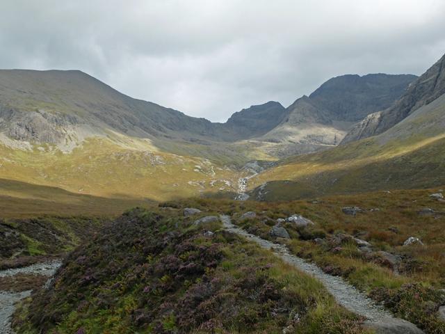Path into Coire a' Ghreadaidh