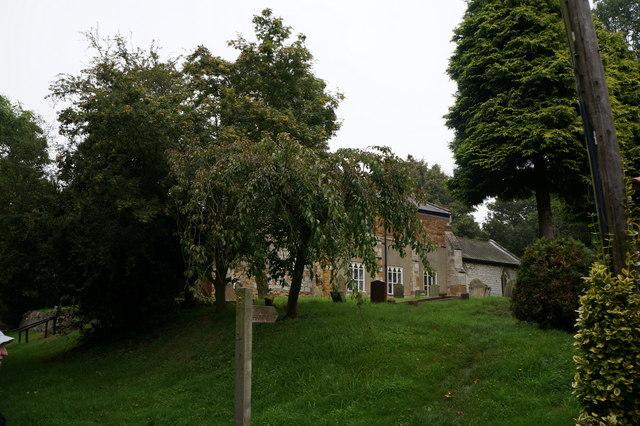 Footpath off Church Lane, Brigsby