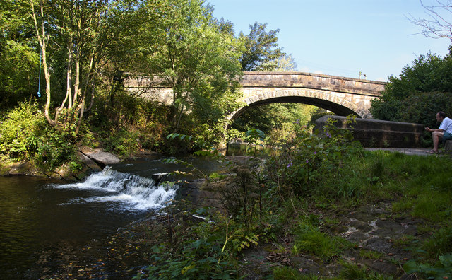 The River Brock and New Bridge