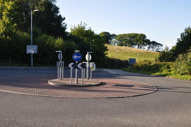 Ilfracombe : New Barnstaple Road Roundabout