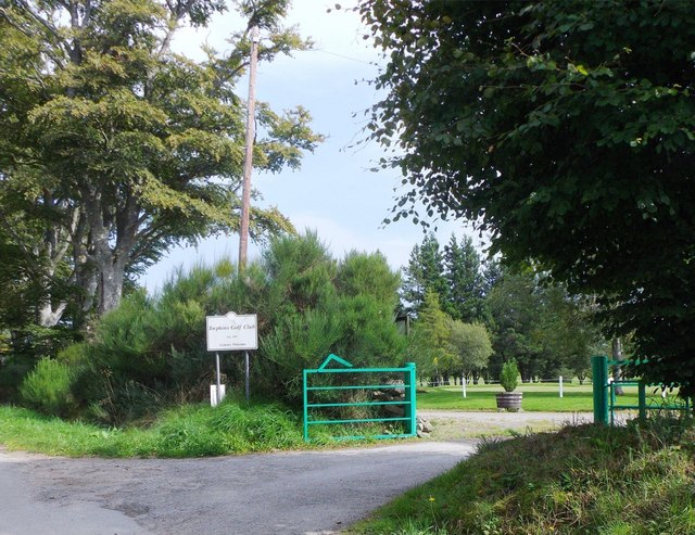 Entrance to Torphins Golf Club