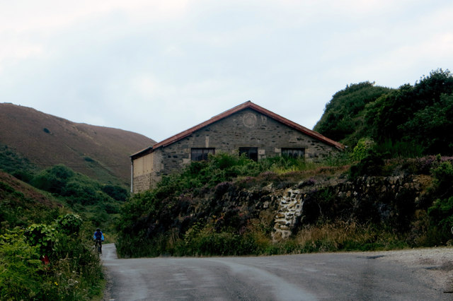Minor road to Porthtowan