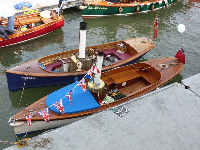 Dartmouth Regatta - steamboats