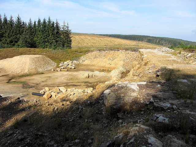 Quarry at Shielsike Crags